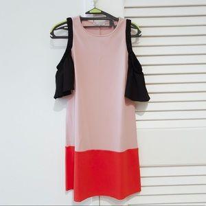 ZARA dress with open shoulders